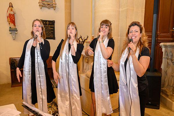groupe de gospel pour votre cérémonie de mariage à l'église