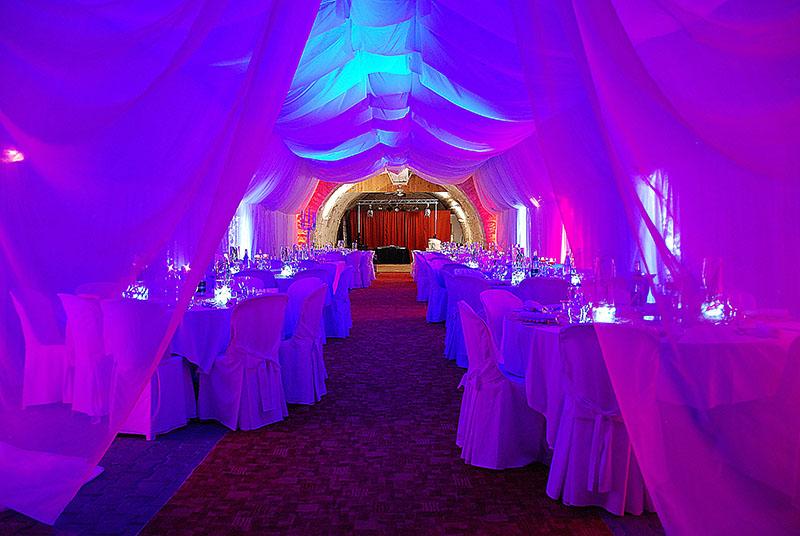 decoration de salle à lyon, villefranche et dans le beaujolais avec art'song productions specialiste evenementiel