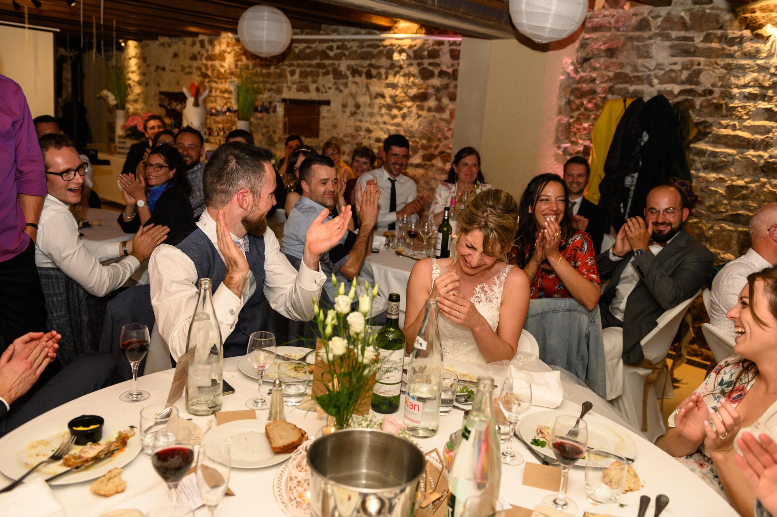 Repas mariage dans le Beaujolais, ambiance assurée par Dj Art Song Production